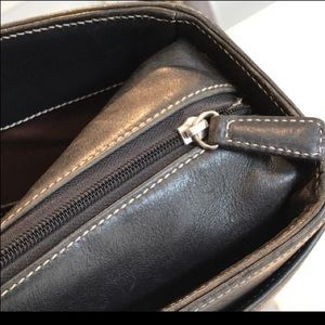Coach Bags - Coach Black Leather Laptop Bag